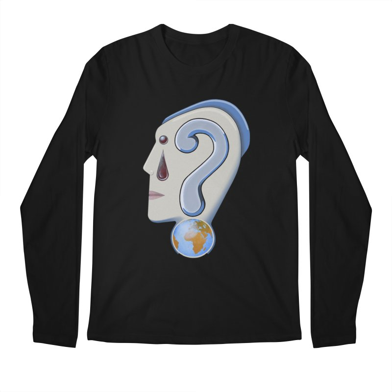 STOPPER 3......Strange things are happening. Men's Regular Longsleeve T-Shirt by RealZeal's Artist Shop