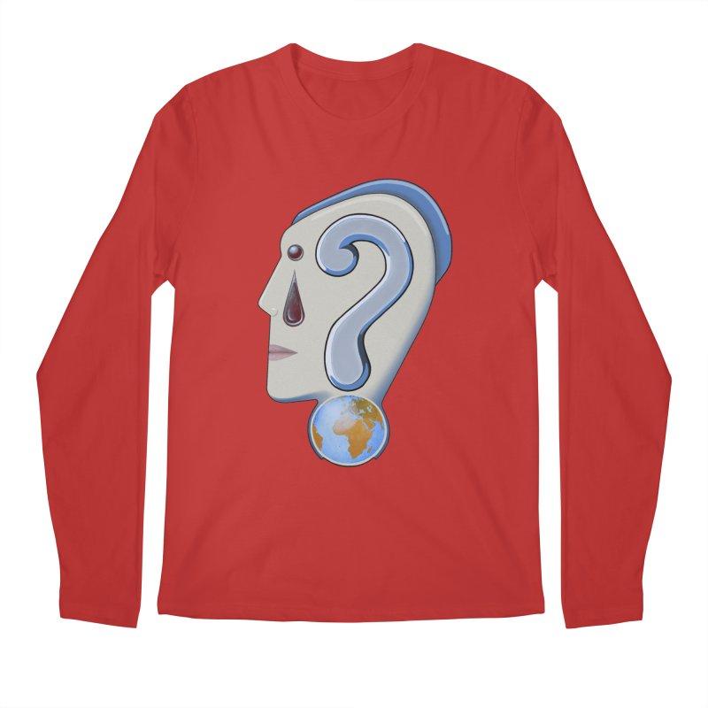 STOPPER 3......Strange things are happening. Men's Regular Longsleeve T-Shirt by RealZeal's Artist Shop