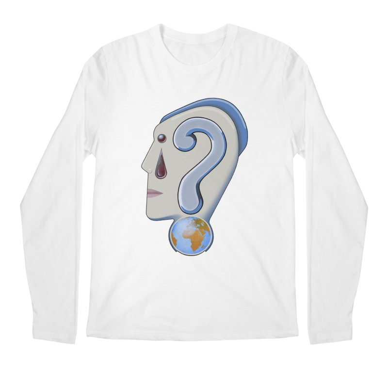 STOPPER 3......Strange things are happening. Men's Longsleeve T-Shirt by RealZeal's Artist Shop
