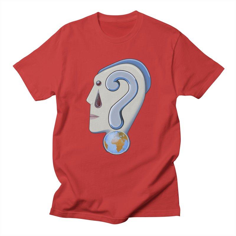 STOPPER 3......Strange things are happening. Men's Regular T-Shirt by RealZeal's Artist Shop