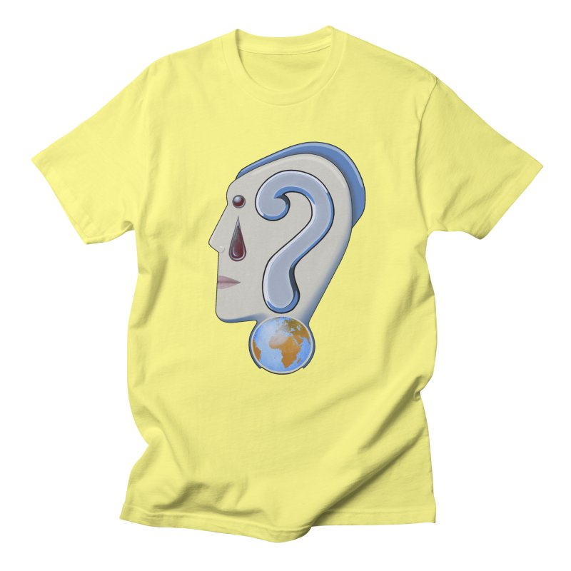 STOPPER 3......Strange things are happening. Men's T-Shirt by RealZeal's Artist Shop