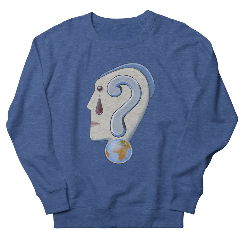 STOPPER 3......Strange things are happening. Men's French Terry Sweatshirt by RealZeal's Artist Shop