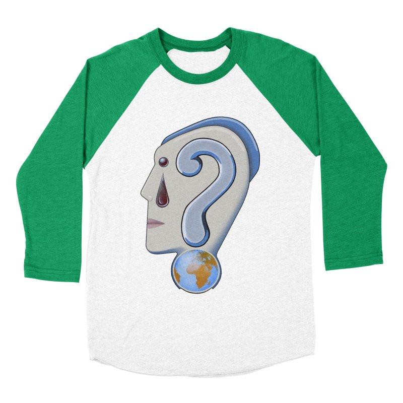 STOPPER 3......Strange things are happening. Women's Baseball Triblend Longsleeve T-Shirt by RealZeal's Artist Shop