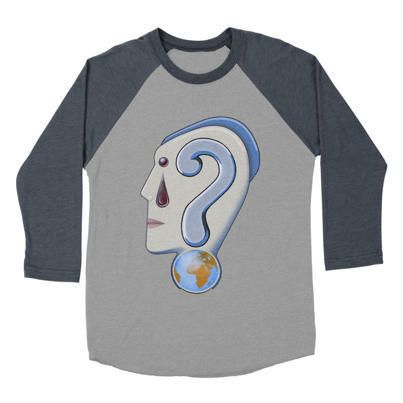 STOPPER 3......Strange things are happening. Women's Baseball Triblend Longsleeve T-Shirt by RealZeal's Artist Shop