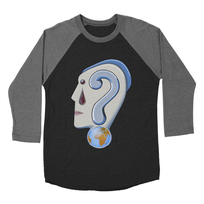 STOPPER 3......Strange things are happening. Men's Baseball Triblend Longsleeve T-Shirt by RealZeal's Artist Shop