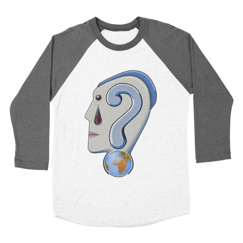 STOPPER 3......Strange things are happening. Men's Baseball Triblend Longsleeve T-Shirt by RealZeal's Artist Shop