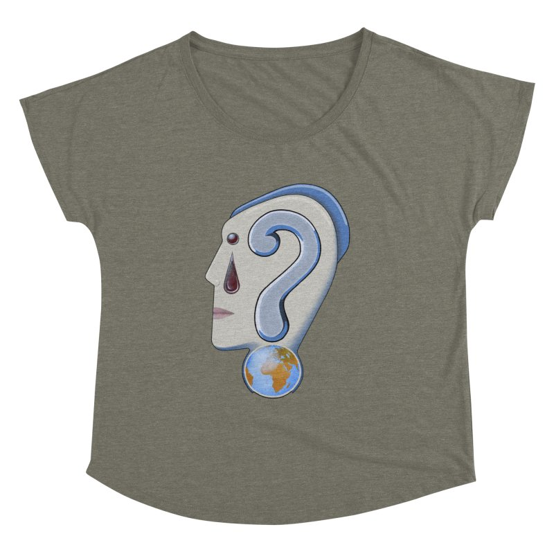 STOPPER 3......Strange things are happening. Women's Dolman Scoop Neck by RealZeal's Artist Shop