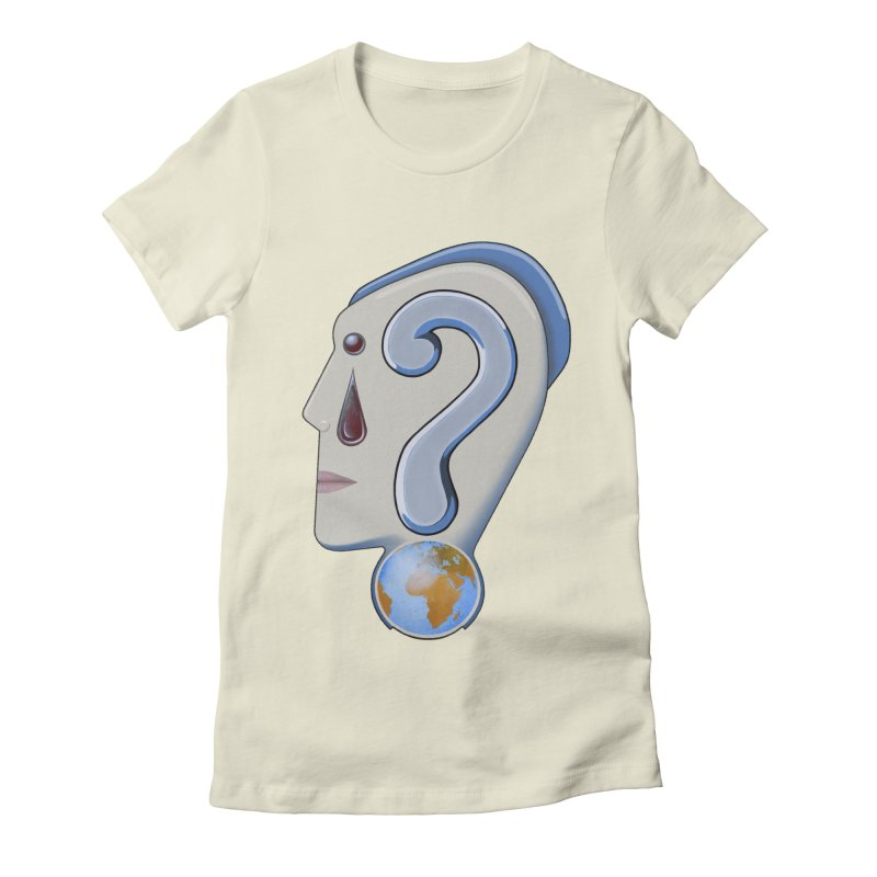 STOPPER 3......Strange things are happening. Women's Fitted T-Shirt by RealZeal's Artist Shop