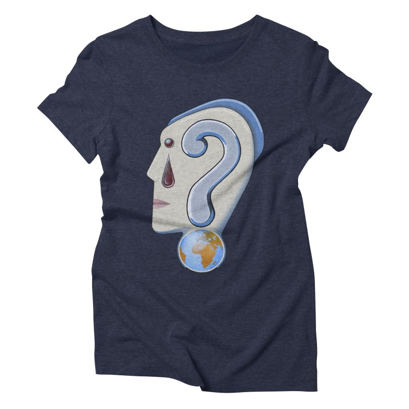 STOPPER 3......Strange things are happening. Women's Triblend T-shirt by RealZeal's Artist Shop