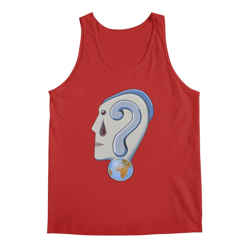 STOPPER 3......Strange things are happening. Men's Tank by RealZeal's Artist Shop