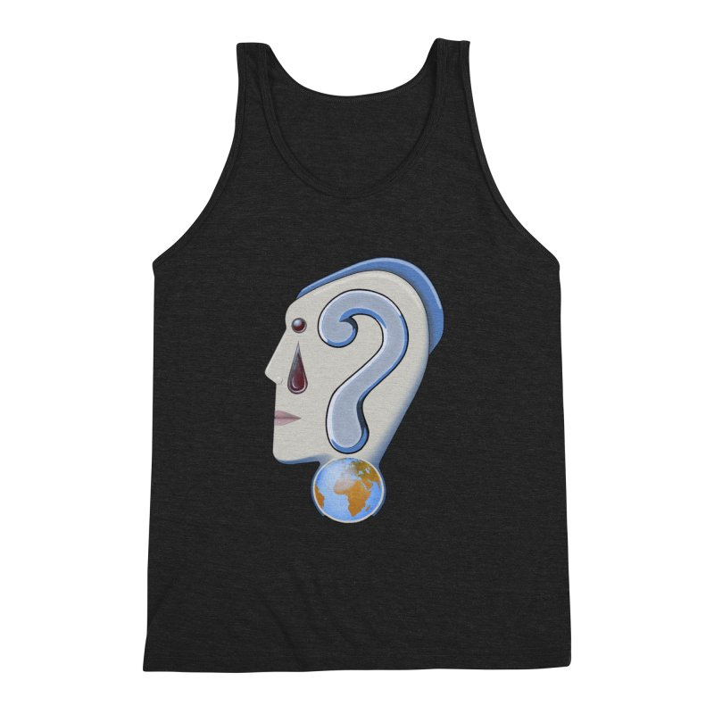 STOPPER 3......Strange things are happening. Men's Triblend Tank by RealZeal's Artist Shop