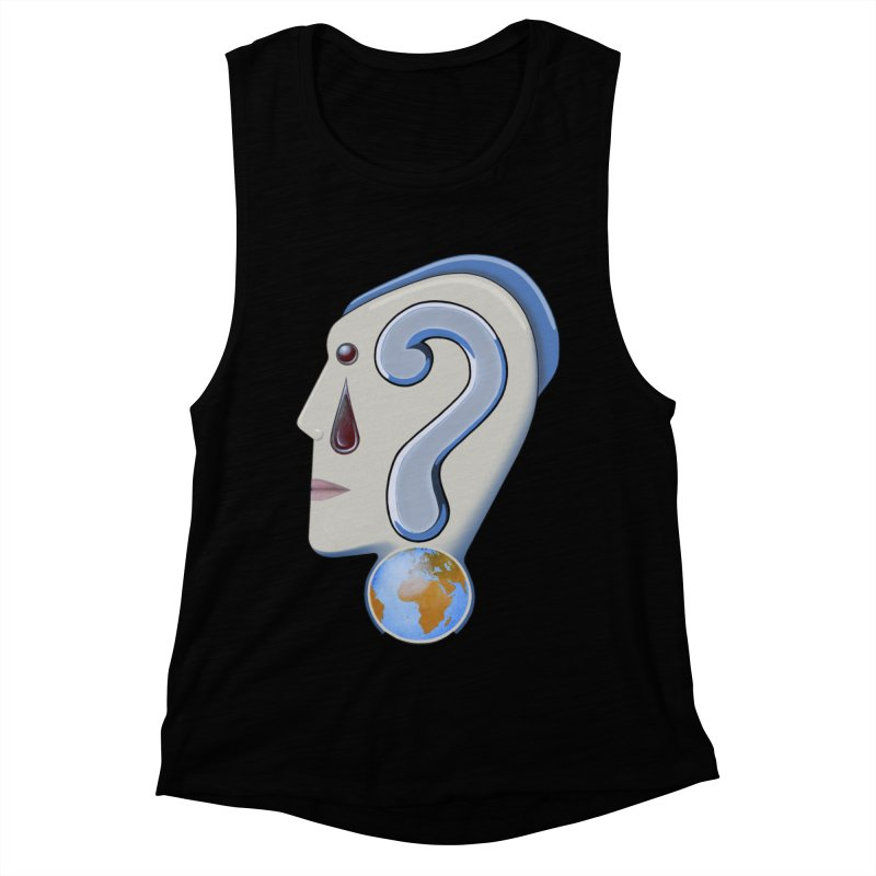 STOPPER 3......Strange things are happening. Women's Muscle Tank by RealZeal's Artist Shop