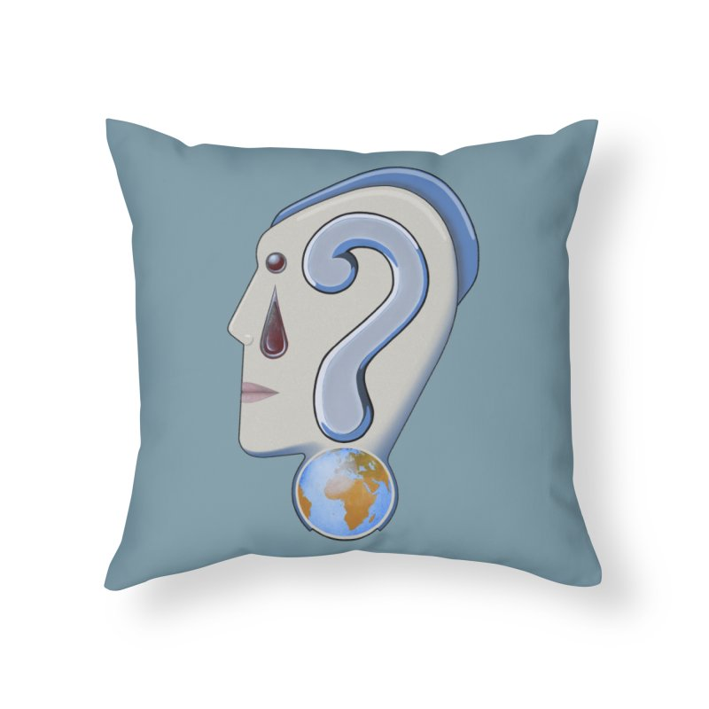 STOPPER 3......Strange things are happening. Home Throw Pillow by RealZeal's Artist Shop