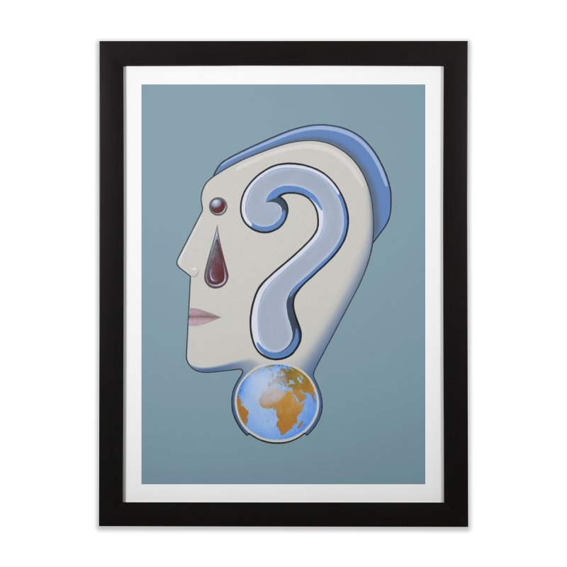 STOPPER 3......Strange things are happening. Home Framed Fine Art Print by RealZeal's Artist Shop
