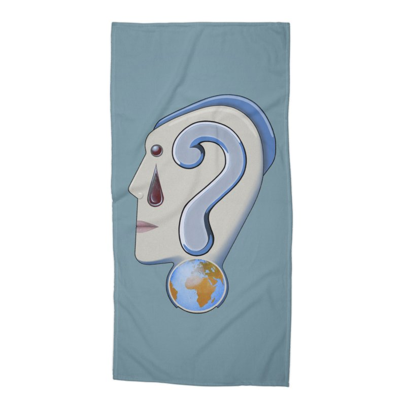 STOPPER 3......Strange things are happening. Accessories Beach Towel by RealZeal's Artist Shop