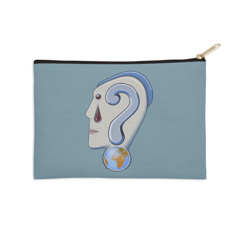 STOPPER 3......Strange things are happening. Accessories Zip Pouch by RealZeal's Artist Shop