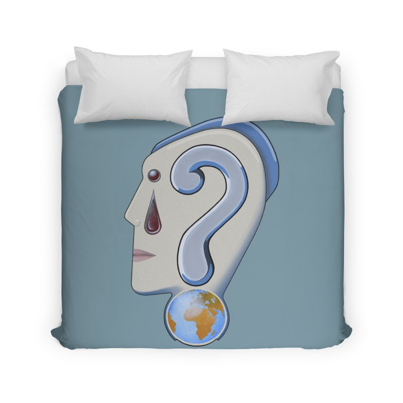 STOPPER 3......Strange things are happening. Home Duvet by RealZeal's Artist Shop