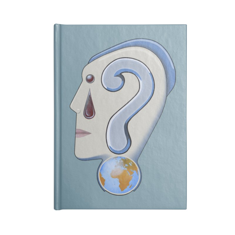 STOPPER 3......Strange things are happening. Accessories Notebook by RealZeal's Artist Shop