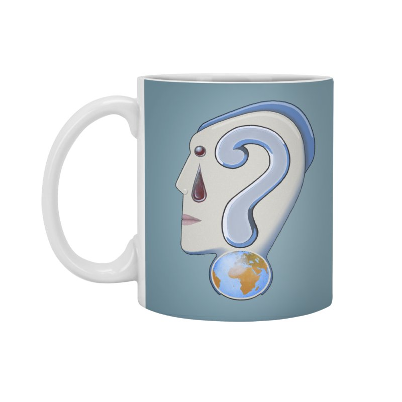STOPPER 3......Strange things are happening. Accessories Standard Mug by RealZeal's Artist Shop