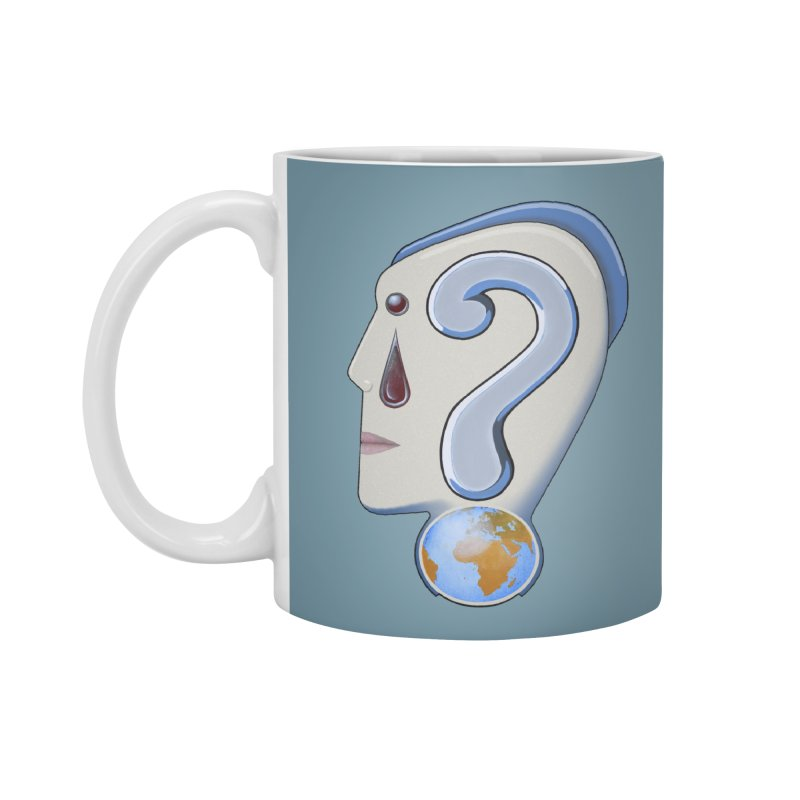 STOPPER 3......Strange things are happening. Accessories Mug by RealZeal's Artist Shop