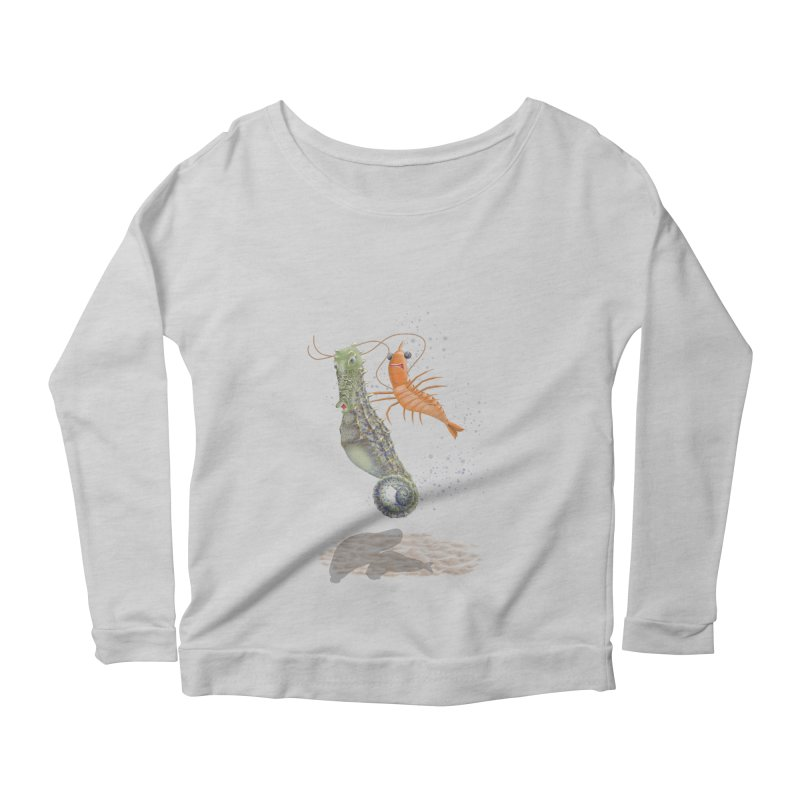DRIFTER...... Women's Scoop Neck Longsleeve T-Shirt by RealZeal's Artist Shop