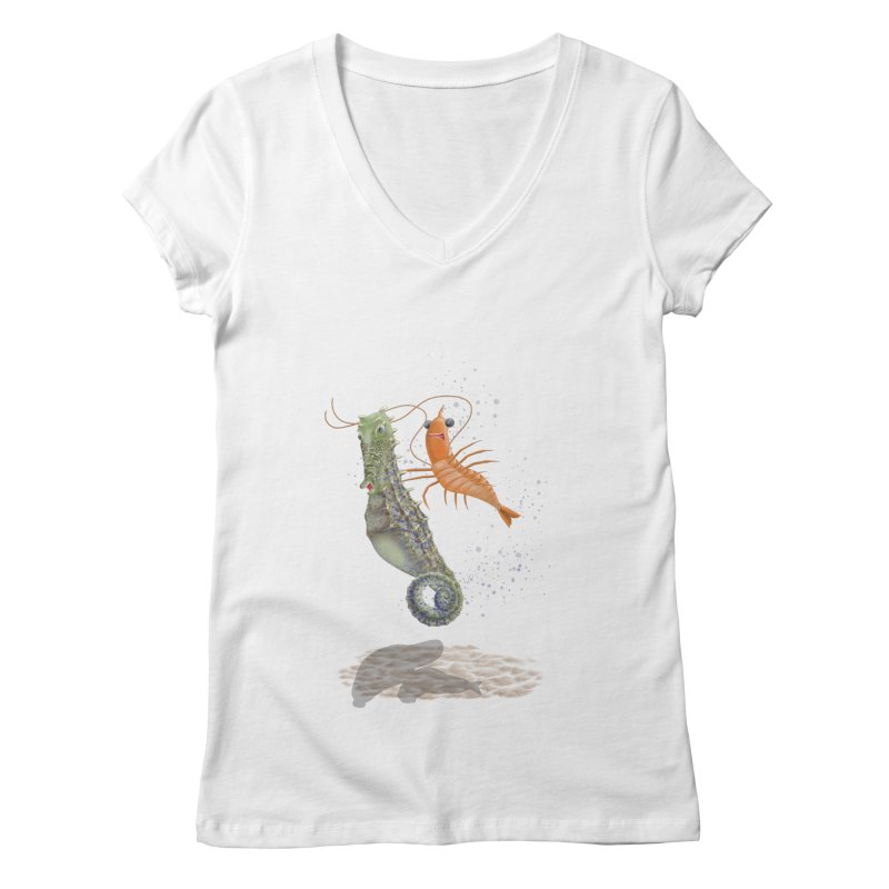 DRIFTER...... Women's Regular V-Neck by RealZeal's Artist Shop