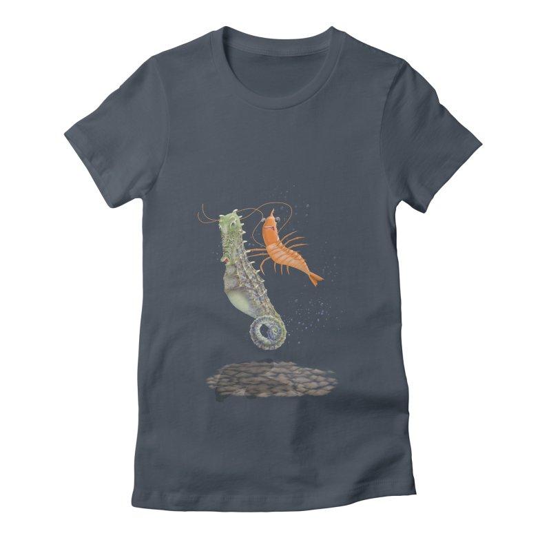 DRIFTER...... Women's T-Shirt by RealZeal's Artist Shop