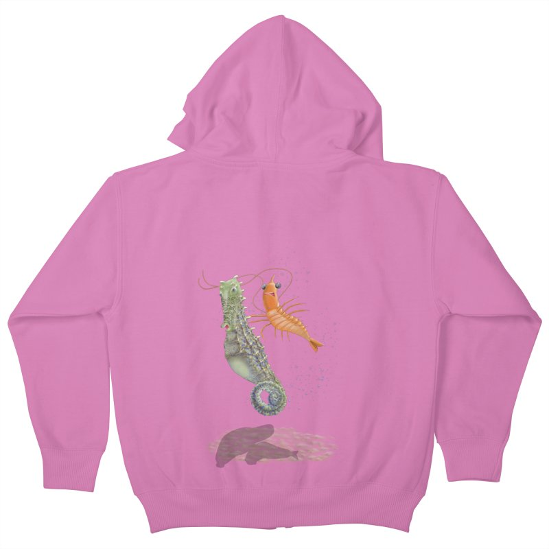 DRIFTER...... Kids Zip-Up Hoody by RealZeal's Artist Shop