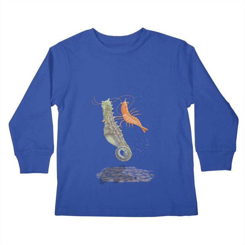 DRIFTER...... Kids Longsleeve T-Shirt by RealZeal's Artist Shop