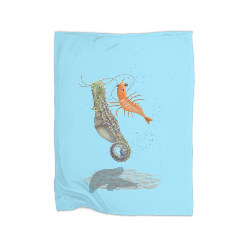 DRIFTER...... Home Fleece Blanket Blanket by RealZeal's Artist Shop