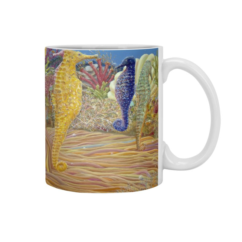 Seahorse Carousel.........Fantasy under the wondrous Sea Accessories Mug by RealZeal's Artist Shop