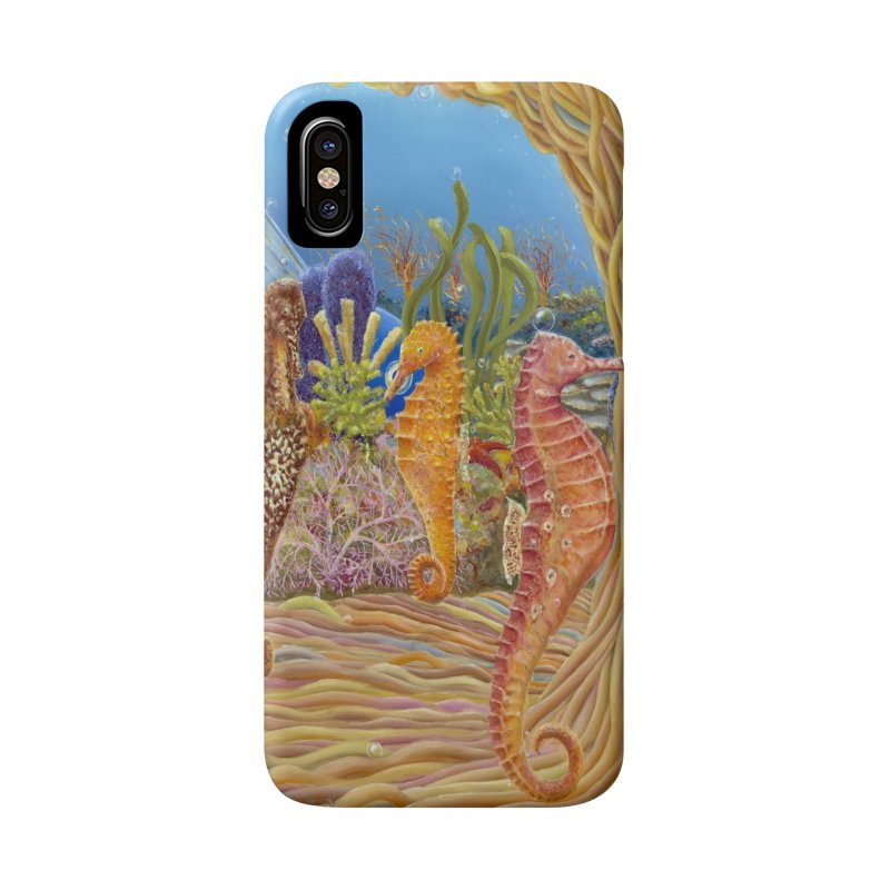 Seahorse Carousel.........Fantasy under the wondrous Sea Accessories Phone Case by RealZeal's Artist Shop