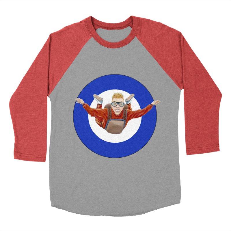 Skydiver (blue) Men's Longsleeve T-Shirt by RealZeal's Artist Shop