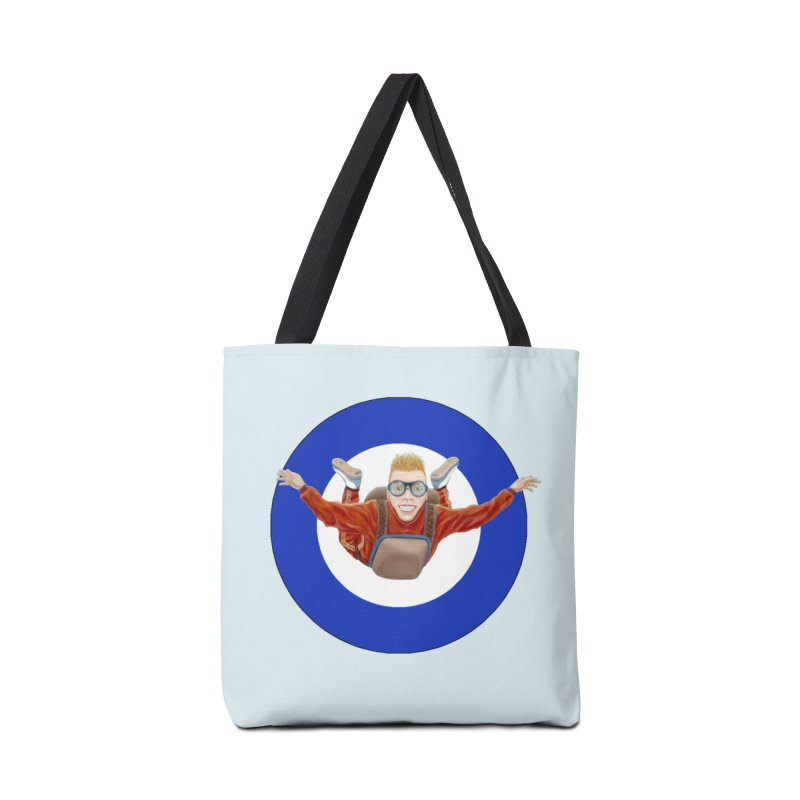 Skydiver (blue) Accessories Bag by realzeal's Artist Shop