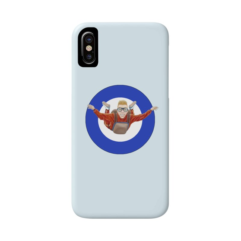 Skydiver (blue) Accessories Phone Case by RealZeal's Artist Shop