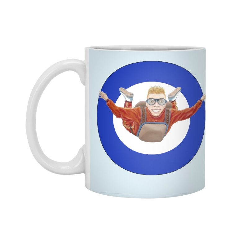 Skydiver (blue) Accessories Mug by RealZeal's Artist Shop