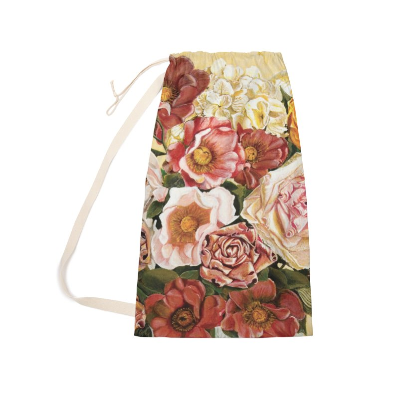 Lily Vase Accessories Laundry Bag Bag by RealZeal's Artist Shop