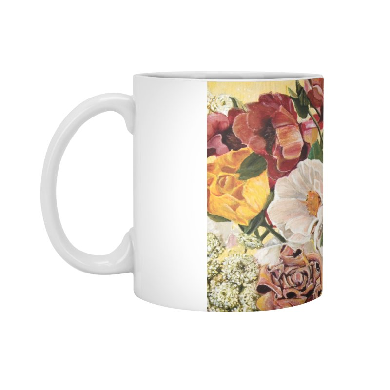 Lily Vase Accessories Mug by RealZeal's Artist Shop