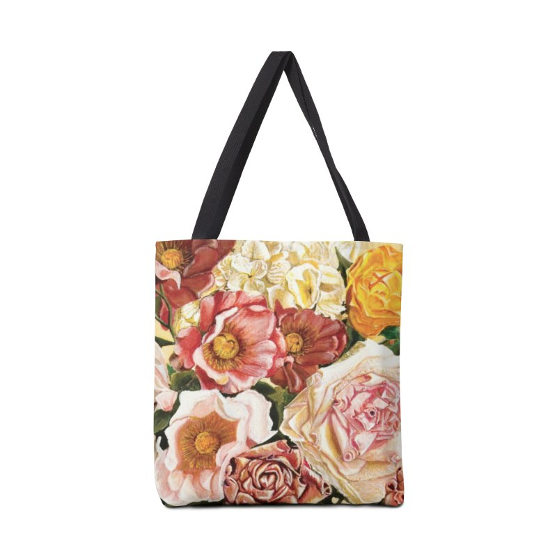 Lily Vase Accessories Tote Bag Bag by RealZeal's Artist Shop