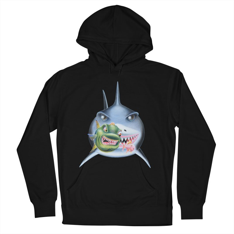 The Big & The Biggest Women's French Terry Pullover Hoody by RealZeal's Artist Shop