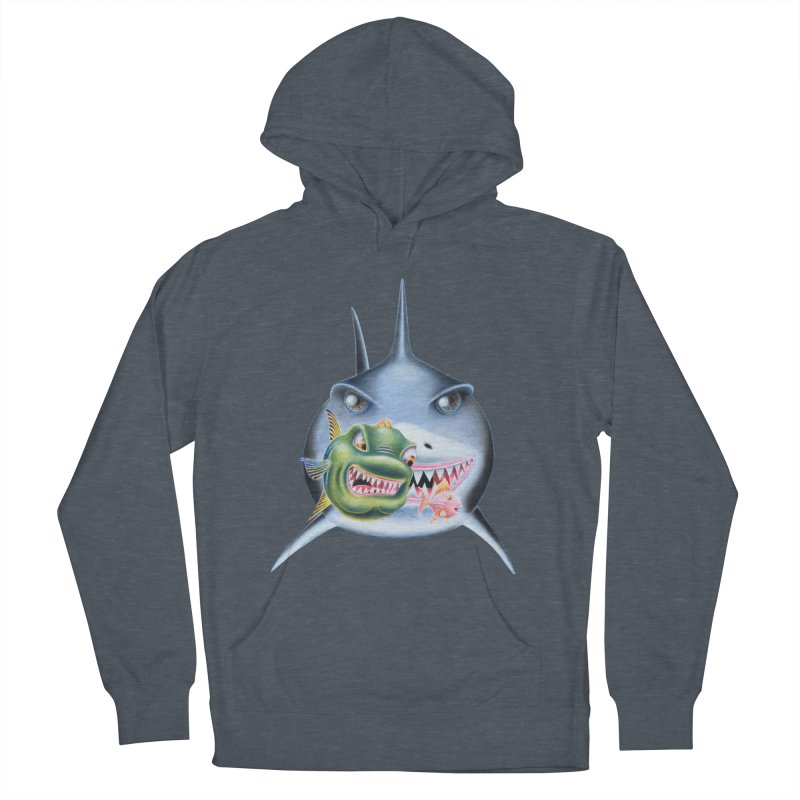The Big & The Biggest Men's Pullover Hoody by RealZeal's Artist Shop
