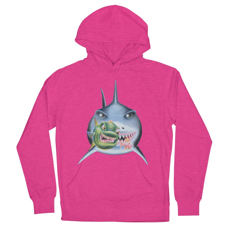 The Big & The Biggest Men's French Terry Pullover Hoody by RealZeal's Artist Shop