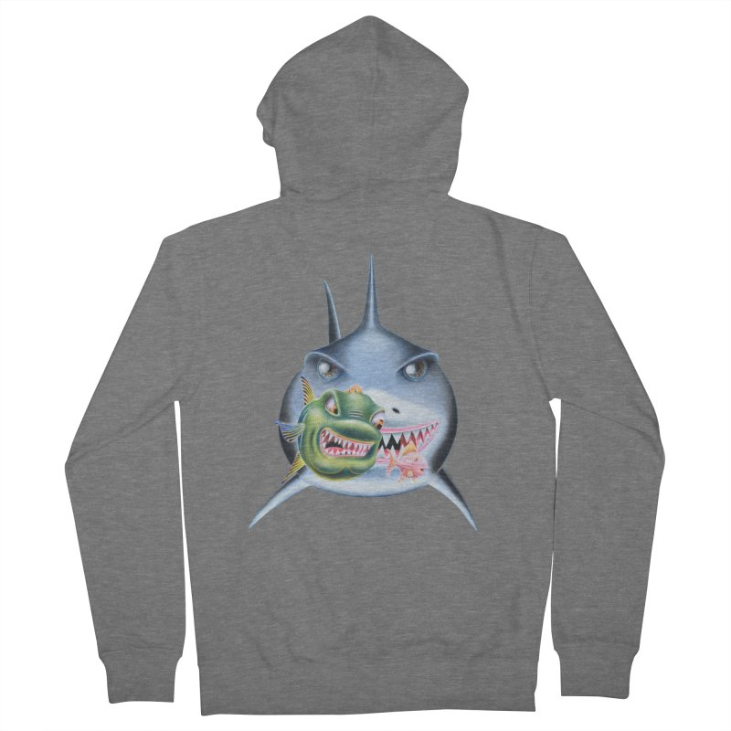 The Big & The Biggest Women's French Terry Zip-Up Hoody by RealZeal's Artist Shop