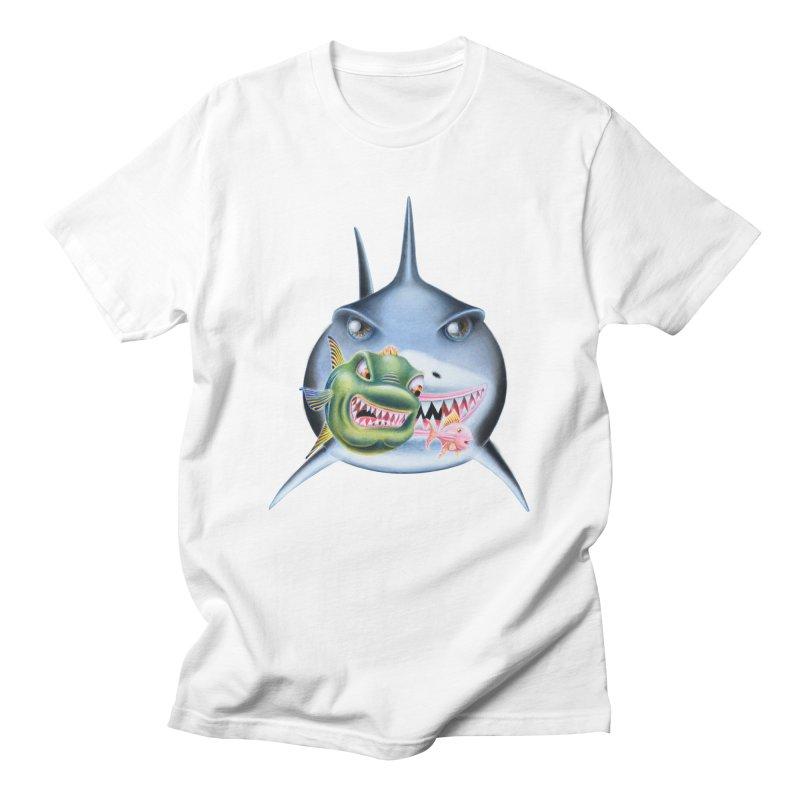 The Big & The Biggest Men's Regular T-Shirt by RealZeal's Artist Shop
