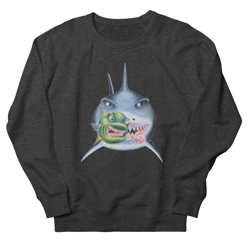 The Big & The Biggest Women's French Terry Sweatshirt by RealZeal's Artist Shop