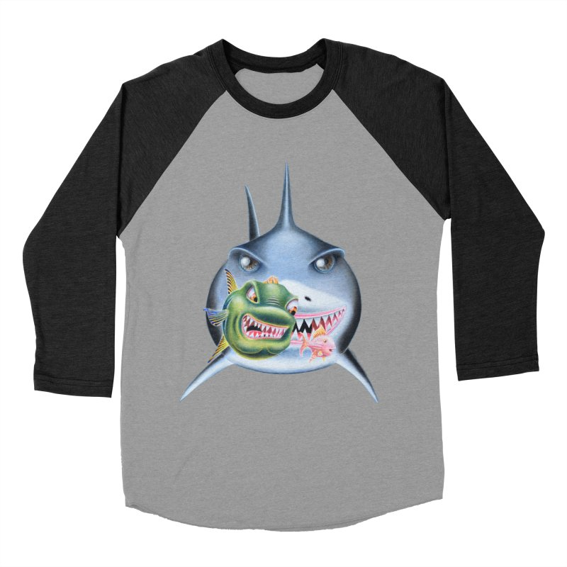 The Big & The Biggest Women's Baseball Triblend Longsleeve T-Shirt by RealZeal's Artist Shop