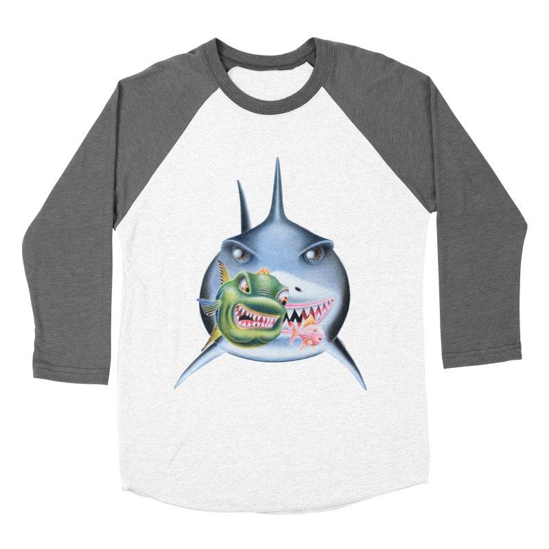 The Big & The Biggest Men's Baseball Triblend Longsleeve T-Shirt by RealZeal's Artist Shop
