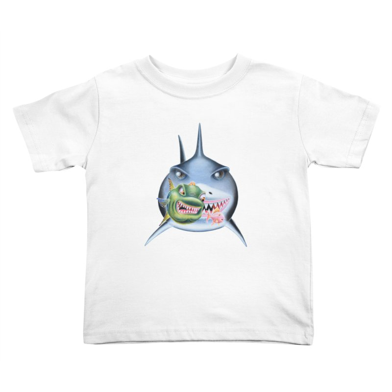 The Big & The Biggest Kids Toddler T-Shirt by RealZeal's Artist Shop