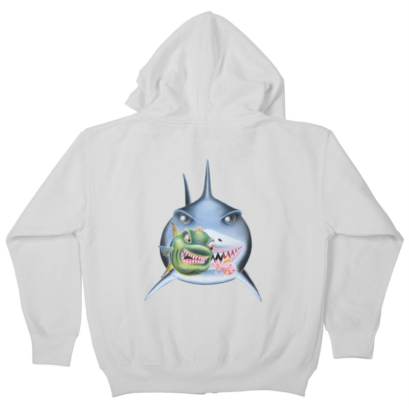 The Big & The Biggest Kids Zip-Up Hoody by RealZeal's Artist Shop