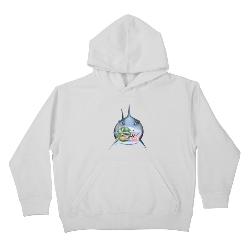 The Big & The Biggest Kids Pullover Hoody by RealZeal's Artist Shop